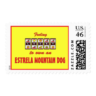 Lucky to Own an Estrela Mountain Dog Fun Design Stamps