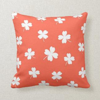 lucky tomato throw pillow