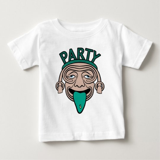 Lucky Tongue Party Guy Baby T-Shirt