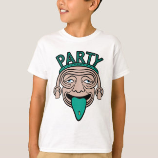 Lucky Tongue Party Guy T-Shirt