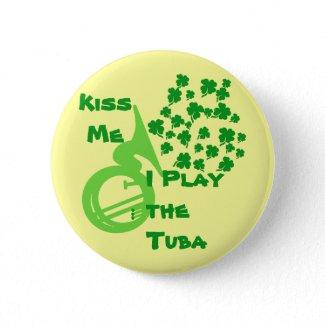 Lucky Tuba Buttons