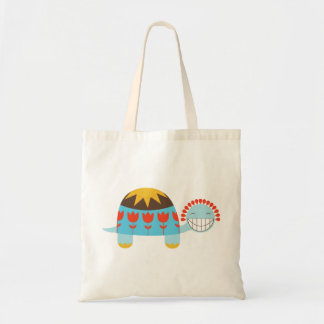 Lucky Turtle Tulip Shell Tote Bag