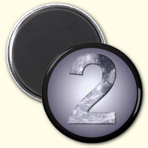 Lucky Two Lunar Symbol Fridge Magnets