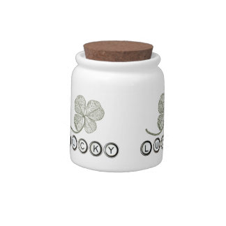 Lucky Type Candy Jar