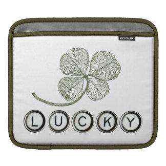Lucky Type iPad Sleeve