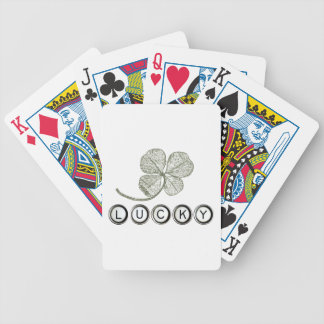 Lucky Type Playing Cards