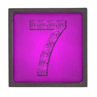 Lucky Vibrational Seven Design Gift Box