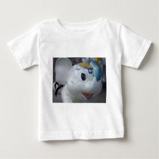 Lucky Vintage Amusement Park Elephant  Ride Baby T-Shirt
