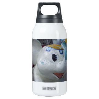 Lucky Vintage Amusement Park Elephant  Ride 10 Oz Insulated SIGG Thermos Water Bottle