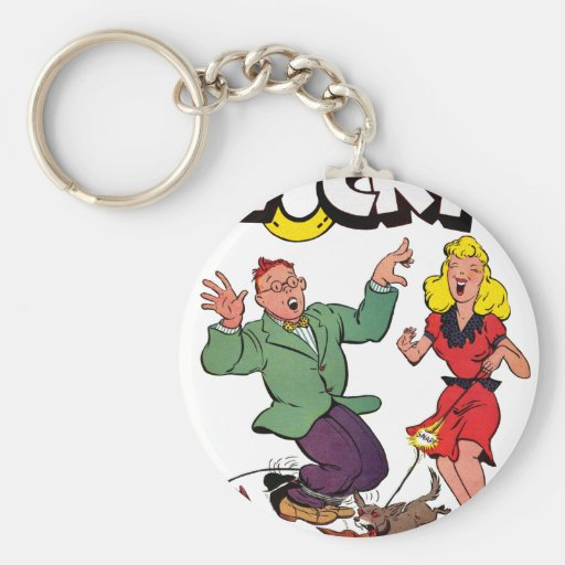 Lucky - Vintage Comic Book Cover Keychain