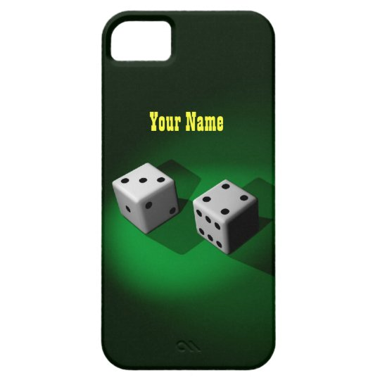 Lucky White Dice Case Mate