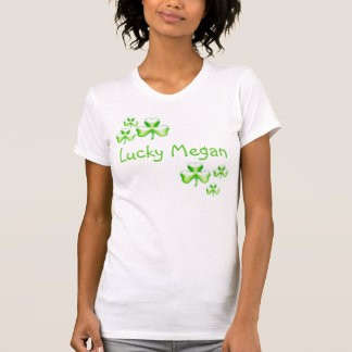 Lucky... with shamrocks - T-shirt