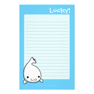 Lucky Writing Pad Stationery