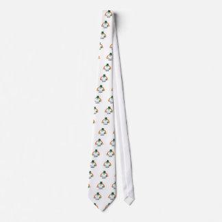 Lucky Yeti Leprechaun Tie