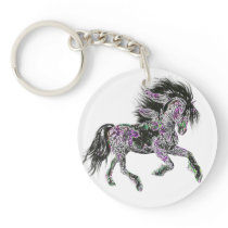 Lucky Zodiac Horse | keychain