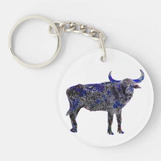 Lucky Zodiac Ox   keychain