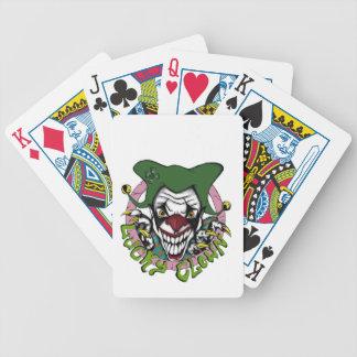 LuckyClown colorido Barajas De Cartas