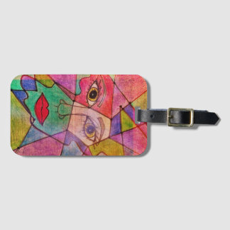 LuckyPen Art Bag Tag