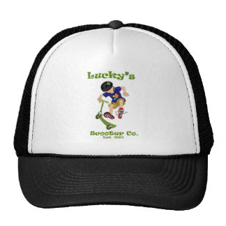 Lucky's Scooter Co. Hats