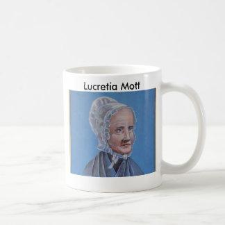 Lucretia-Mott Classic White Coffee Mug