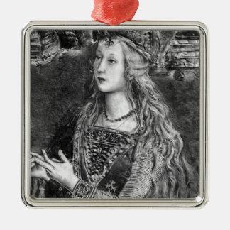 Lucrezia Borgia [House of Borgia] Metal Ornament