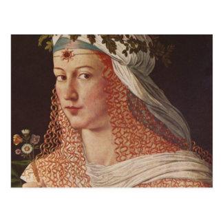 Lucrezia Borgia Postcard