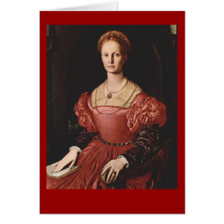 Lucrezia Panciatichi Greeting Card