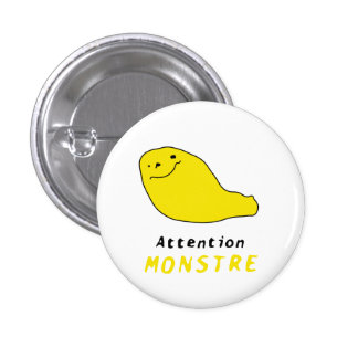 Luc's Monstre yellow button
