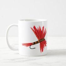 """""""Lucy"""" 11 oz white coffee mug"""