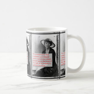 Lucy Burns Suffragist Classic White Coffee Mug