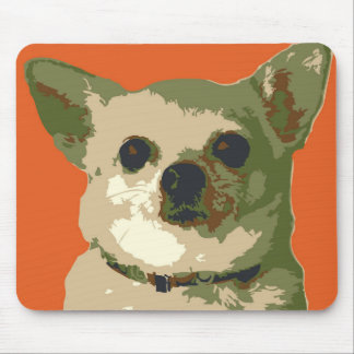 Lucy Chihuahua Mouse Pad
