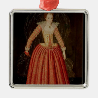 Lucy Harrington, Countess of Bedford Metal Ornament