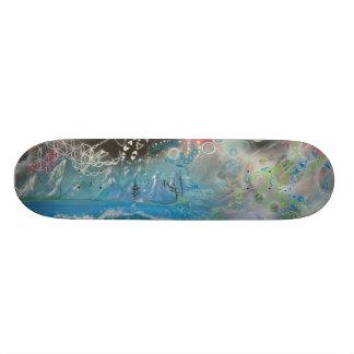 Lucy in the Sky of Tahoe-Skateboard Skateboard