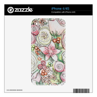 Lucy iPhone 4/4S Skin iPhone 4 Decals