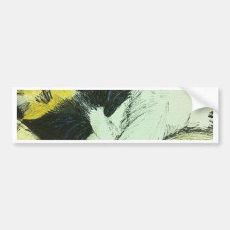 Lucy kitten sleeping car bumper sticker