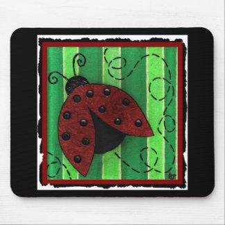 Lucy la mariquita - mousepad tapete de raton