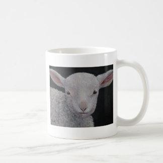 Lucy Lambkin Classic White Coffee Mug
