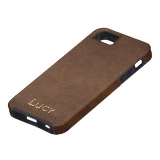 LUCY Leather-look Customised Phone Case