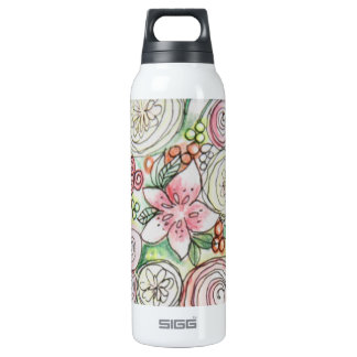 Lucy Liberty Bottle 16 Oz Insulated SIGG Thermos Water Bottle