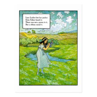 Lucy Locket Postcard