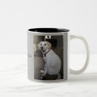 Lucy Lu Two-Tone Coffee Mug
