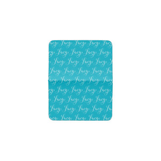 Lucy - Modern Calligraphy Name Design Business Card Holder