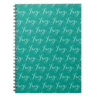 Lucy - Modern Calligraphy Name Design Notebook