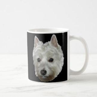 Lucy Classic White Coffee Mug