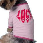 Lucy - nombre del animal de compañía camisetas de mascota