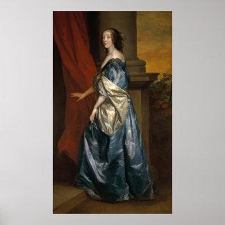 Lucy Percy, condesa de Carlisle c.1637 Póster