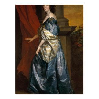 Lucy Percy, condesa de Carlisle c.1637 Postales