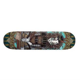 """Lucy"" Steam Punk Aviator Fairy Art Skate Board"