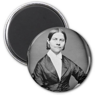 Lucy Stone American Abolitionist and Suffragist 2 Inch Round Magnet