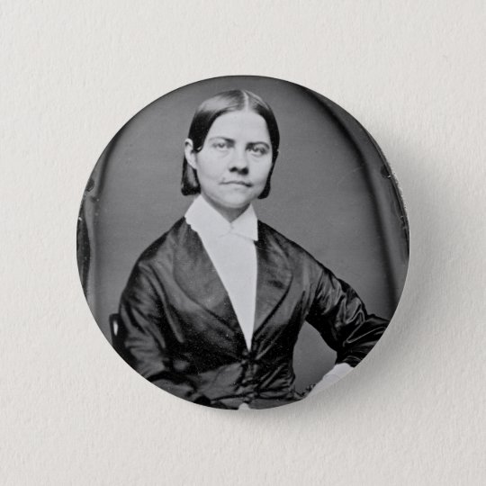 Lucy Stone American Abolitionist and Suffragist Button
